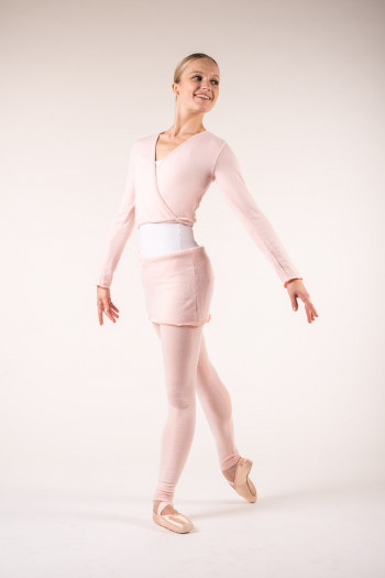 Legging danse enfant wear moi rose