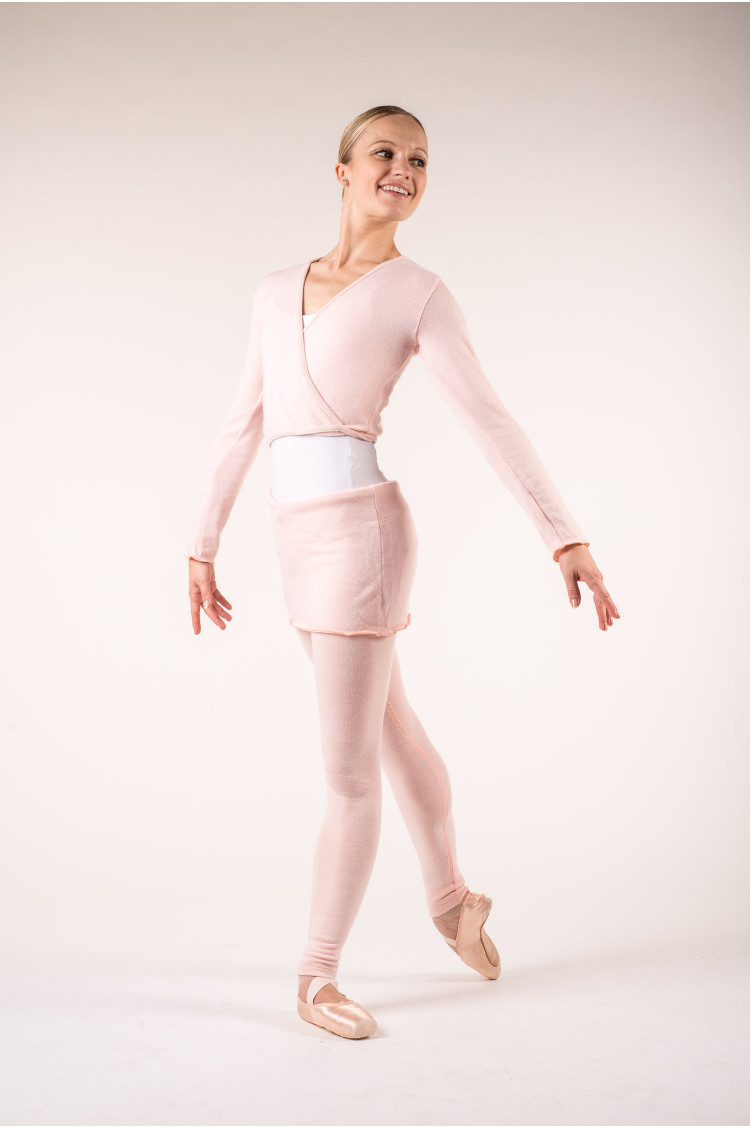 Legging danse enfant wear moi rose
