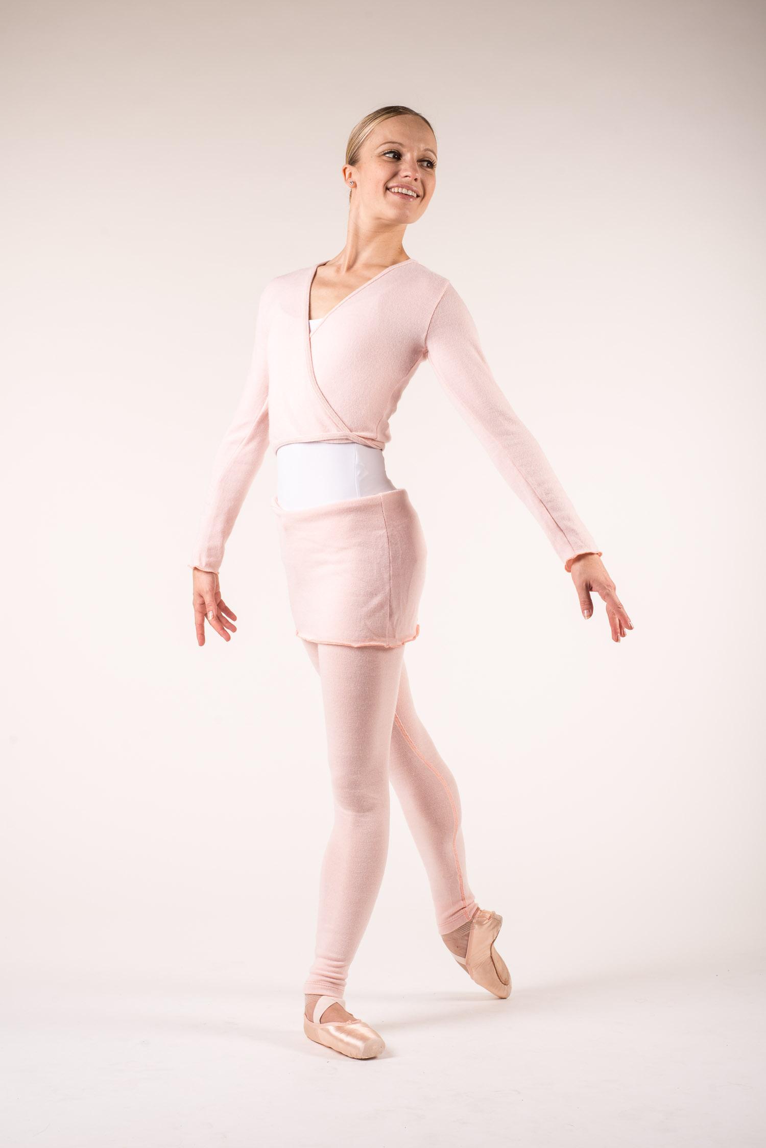 Tenue échauffement de danse femme et cache-coeur danse ... 0f967662c18