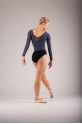 Top collant de danse Repetto anthracite