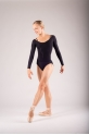 Top collant de danse Repetto noir