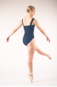 Capezio TC0001 tactel navy leotard