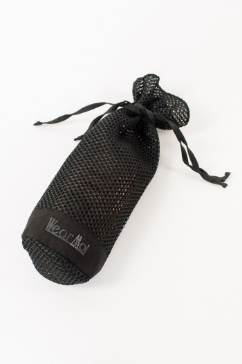 Wear Moi DIV81 black pointe shoes pocket