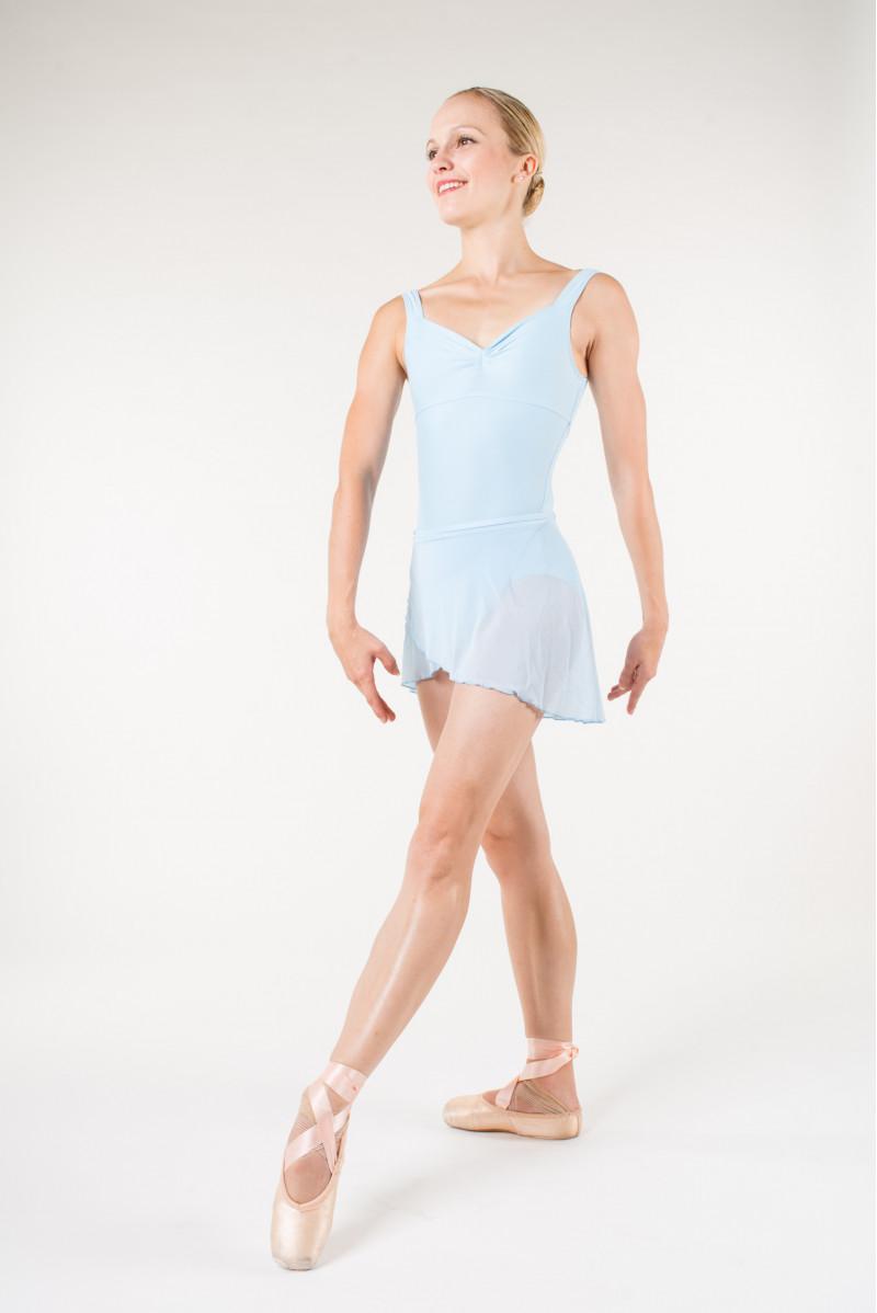 Jupe danse wear moi bleu ciel