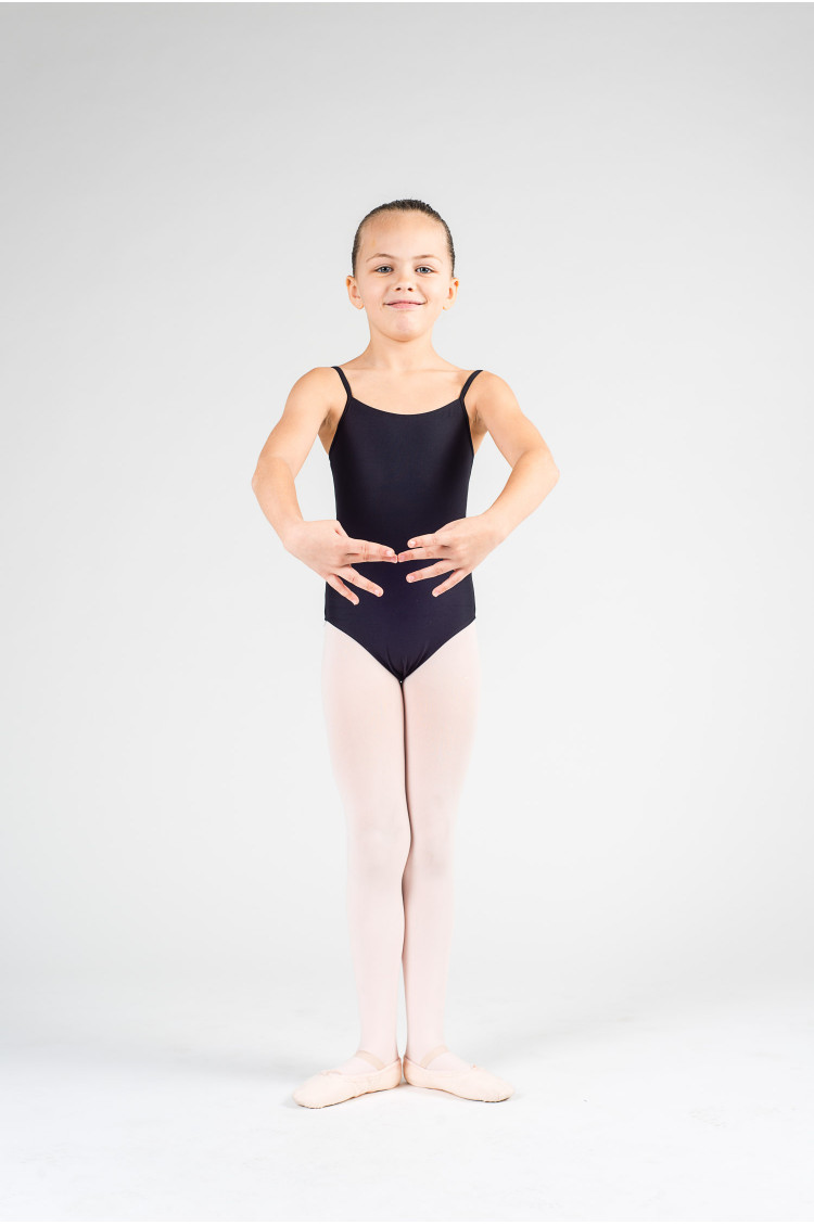 Wear Moi Diane black ballet leotard