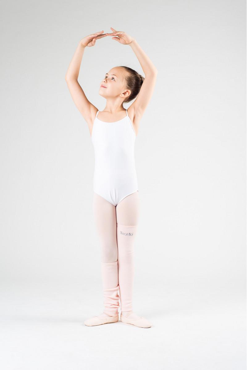 Wear Moi pink knitted leg warmers