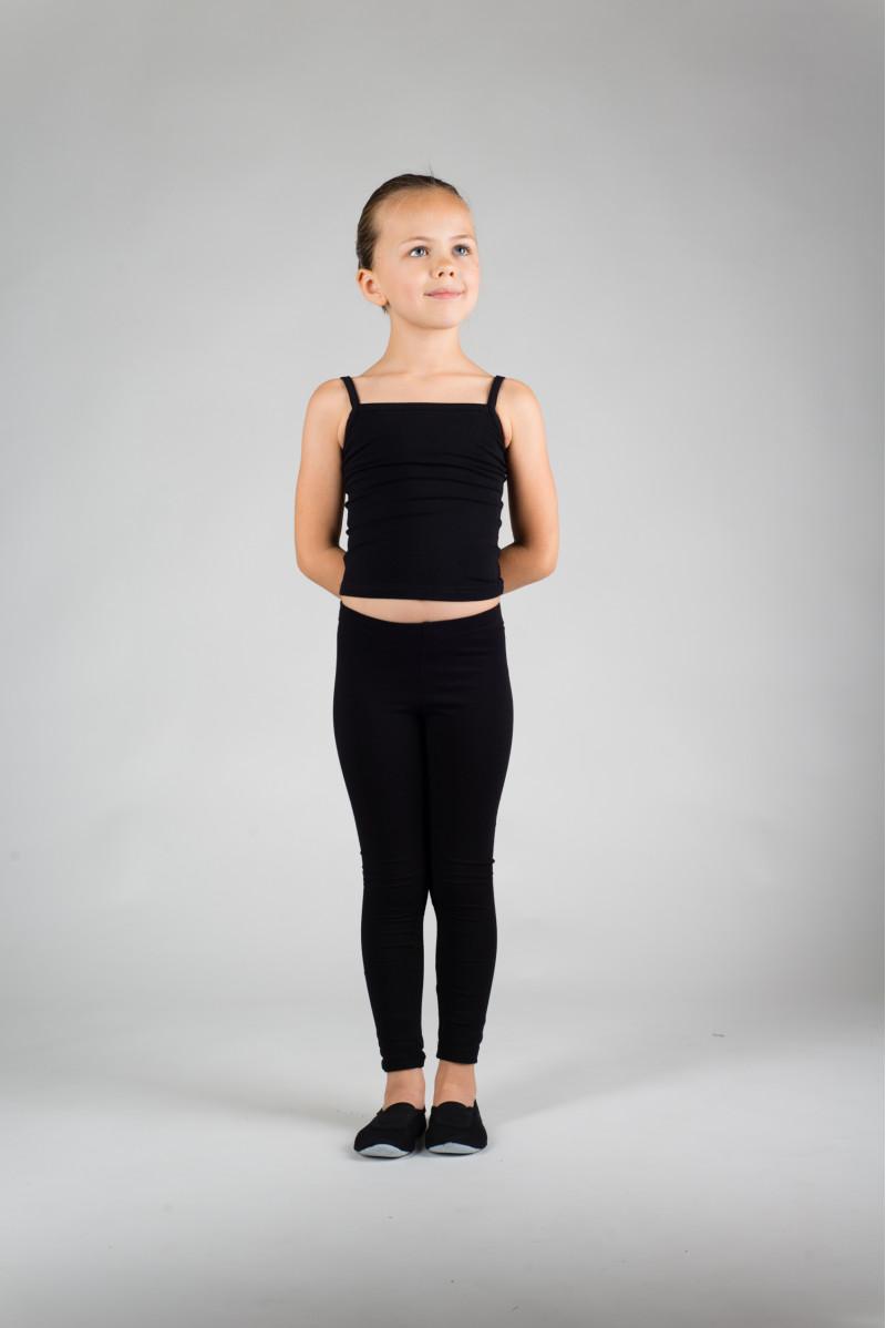 Repetto children black tights D061