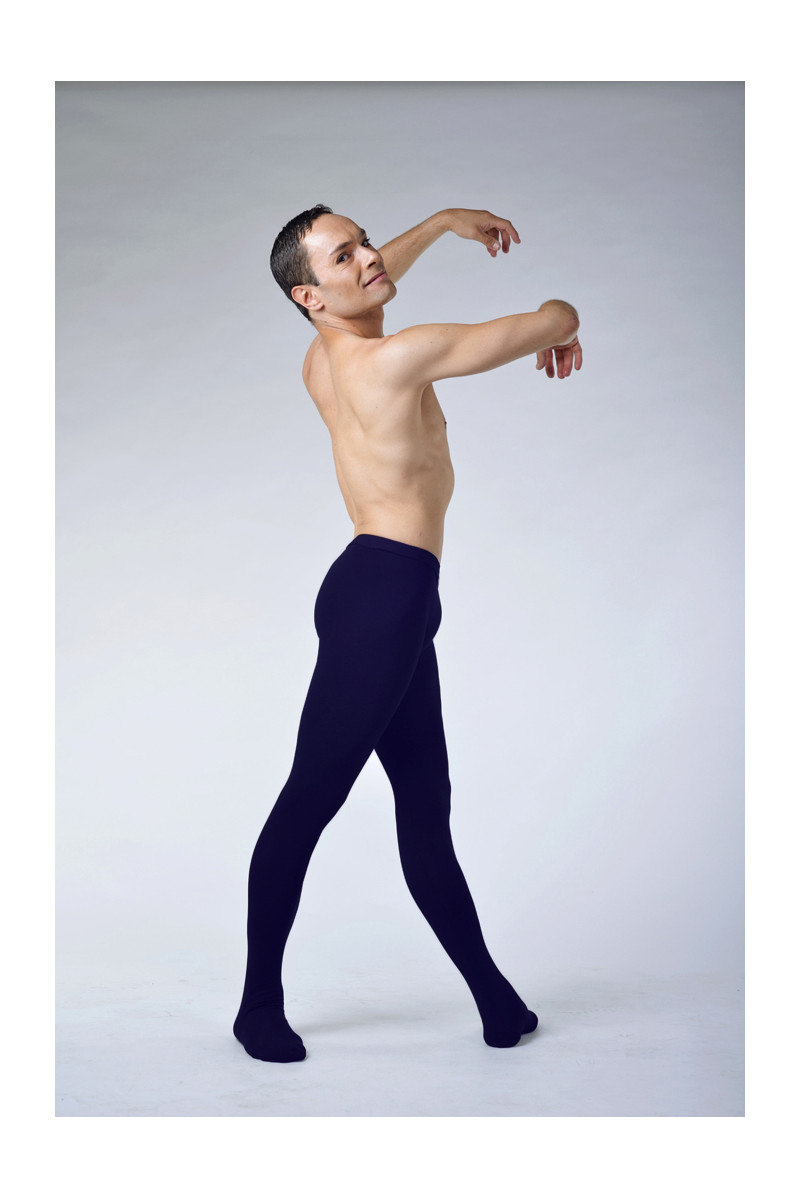 Ballet Rosa Vincent navy cotton tights
