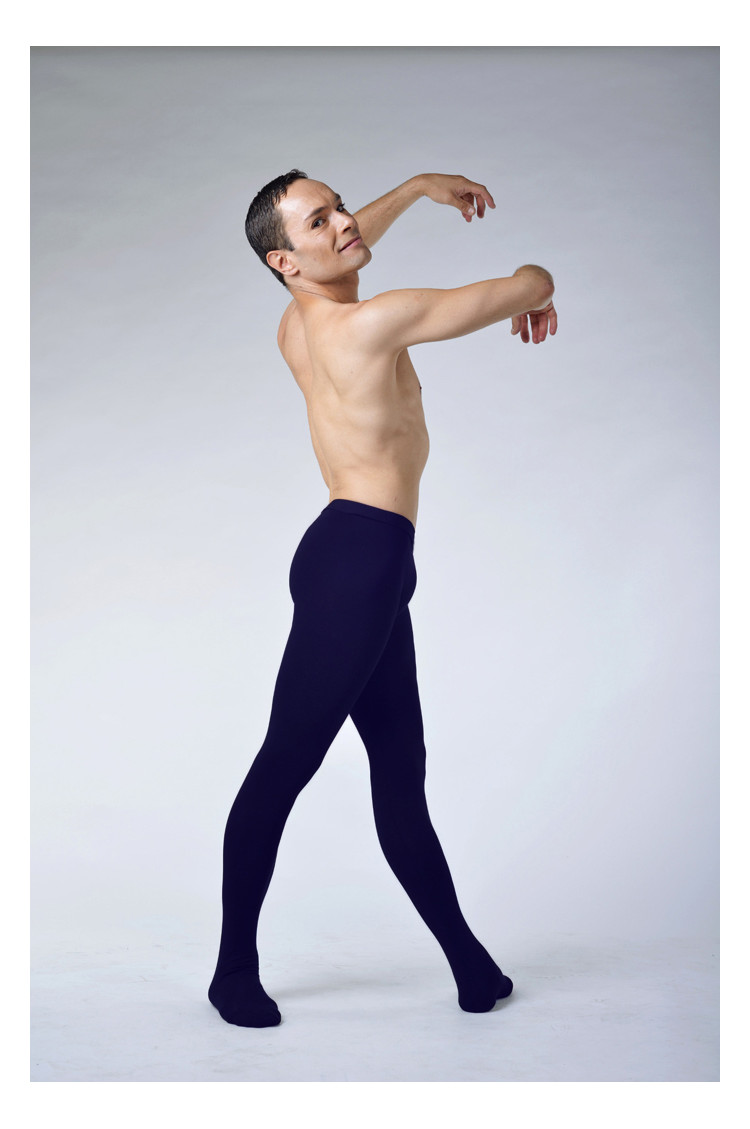 Ballet Rosa Vincent cotton navy tights
