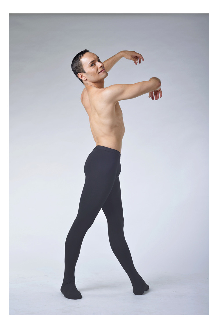 Ballet Rosa Vincent microfiber grey tights