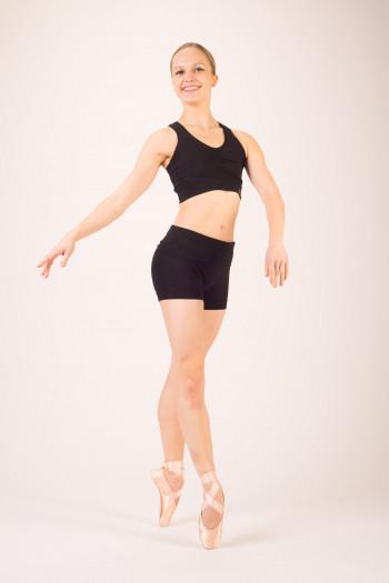 Repetto black seamless bra