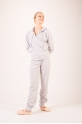 Repetto Aluminium grey hooded jacket