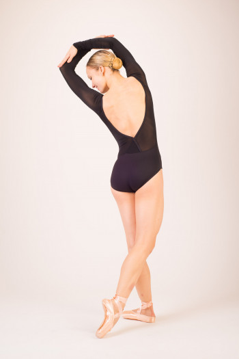 Capezio TC0041W long sleeves leotard
