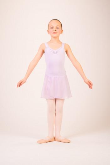 Jupette danse enfant Capezio lavender