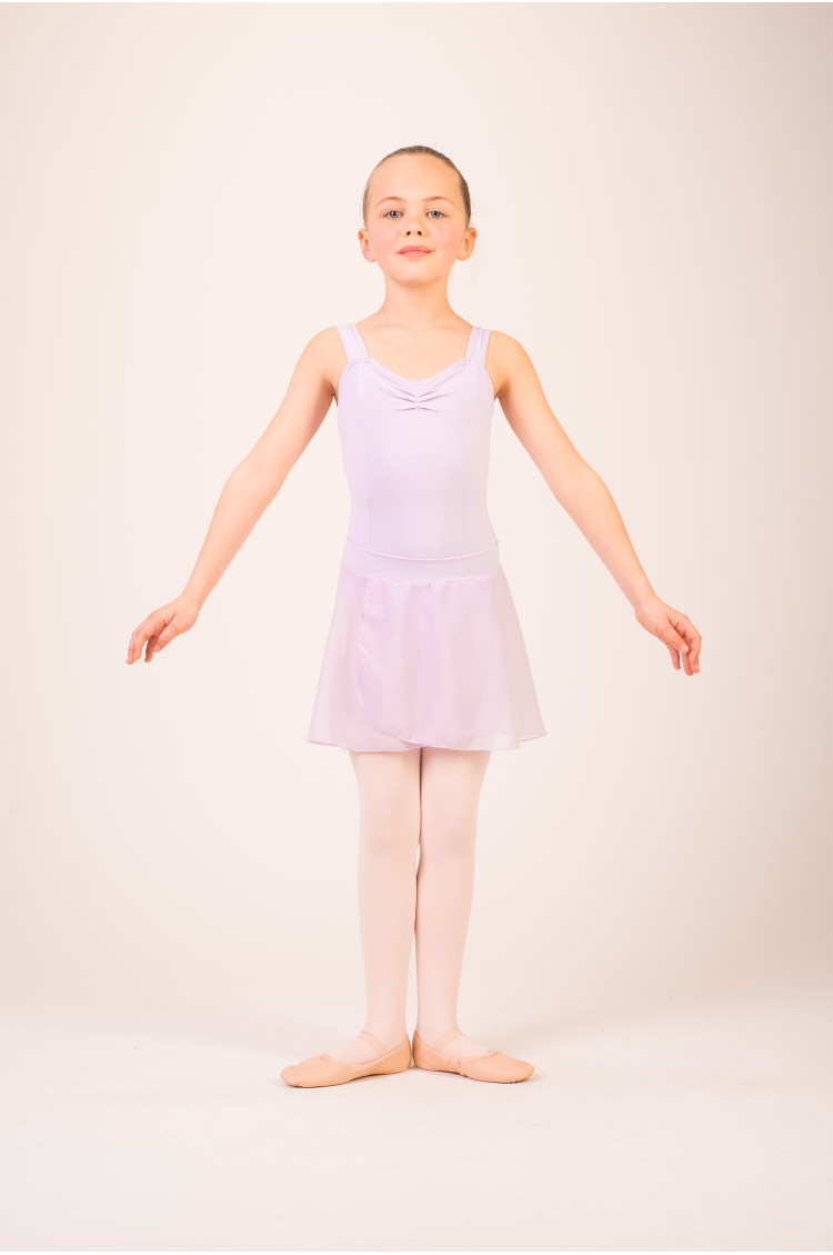 Capezio girls lavender skirt