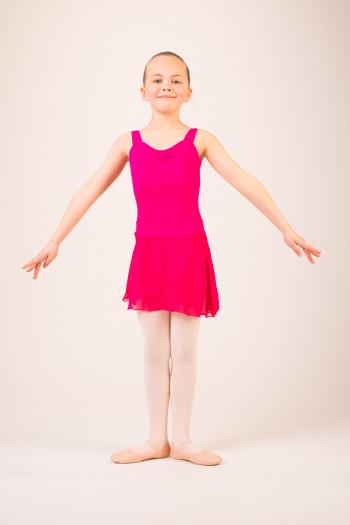 Jupette danse enfant Capezio mulberry