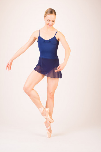 Capezio women navy skirt