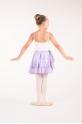 Paillette purple to tie skirt
