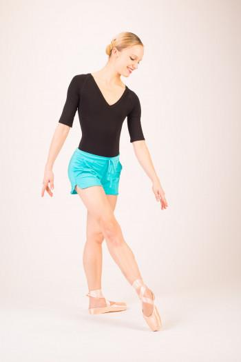 Short danse temps danse bleu