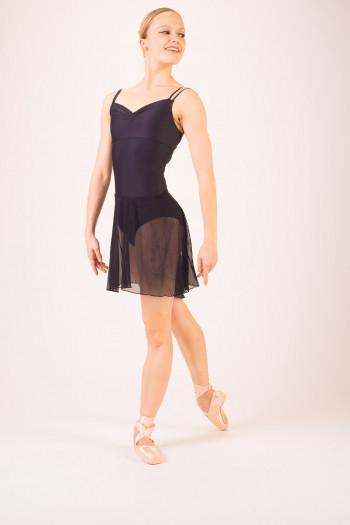 Jupe de danse mi longue noire