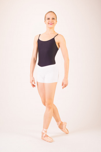 Wear Moi Gipsy white dance shorts