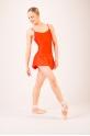 Wear Moi Daphne tangerine women skirt