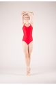 Wear Moi Abbie red leotard