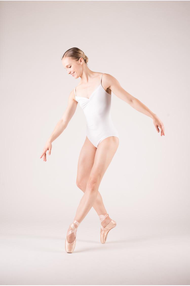 Justaucorps danse pas cher wearmoi blanc