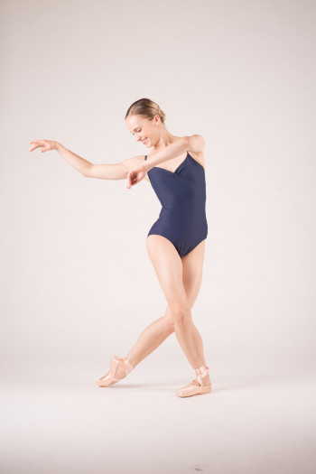 Wear Moi Abbie navy leotard