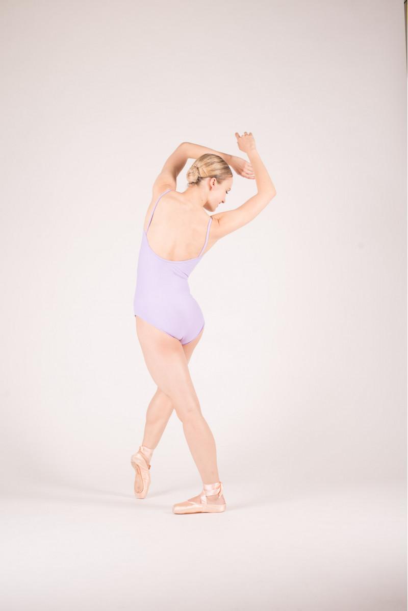 Wear Moi Abbie lilac leotard