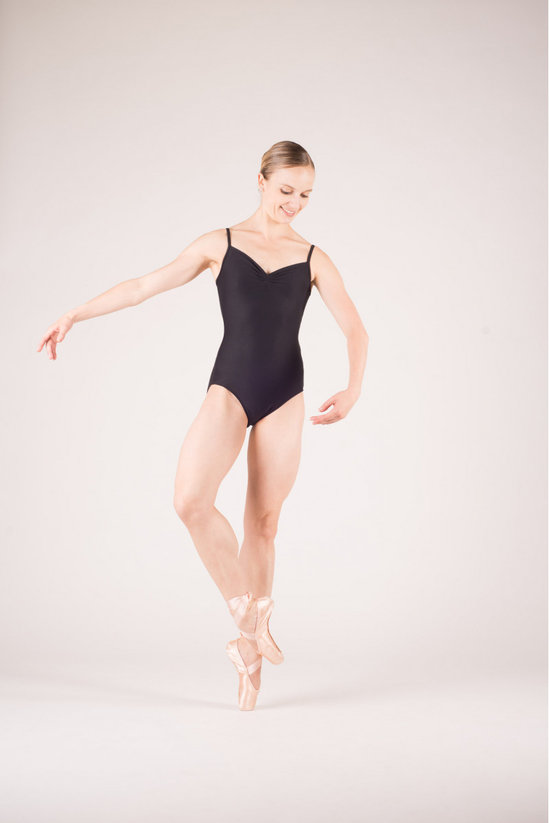 Wear Moi Abbie black leotard