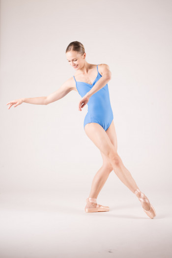 Wear Moi Abbie french blue leotard