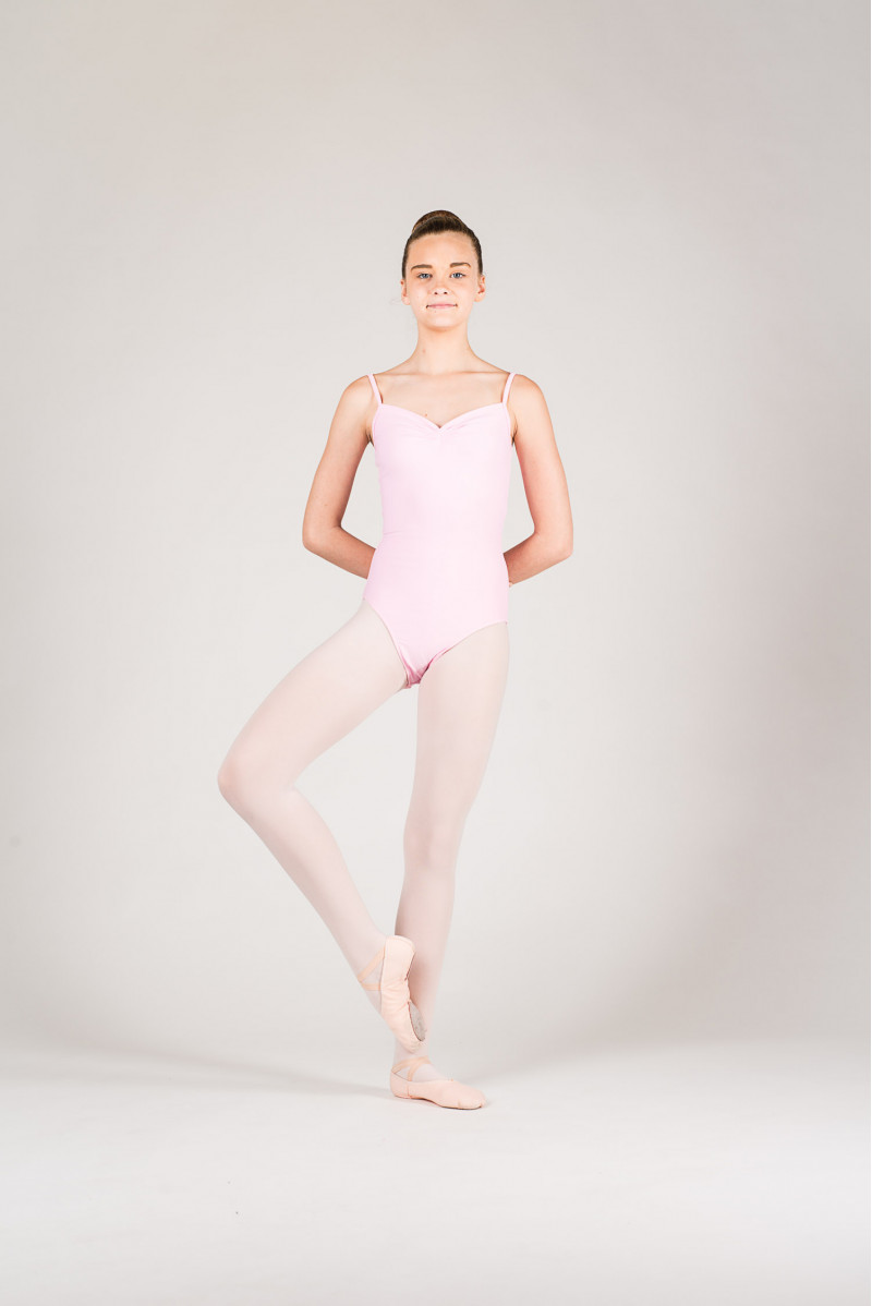 Wear Moi Abbie pink leotard