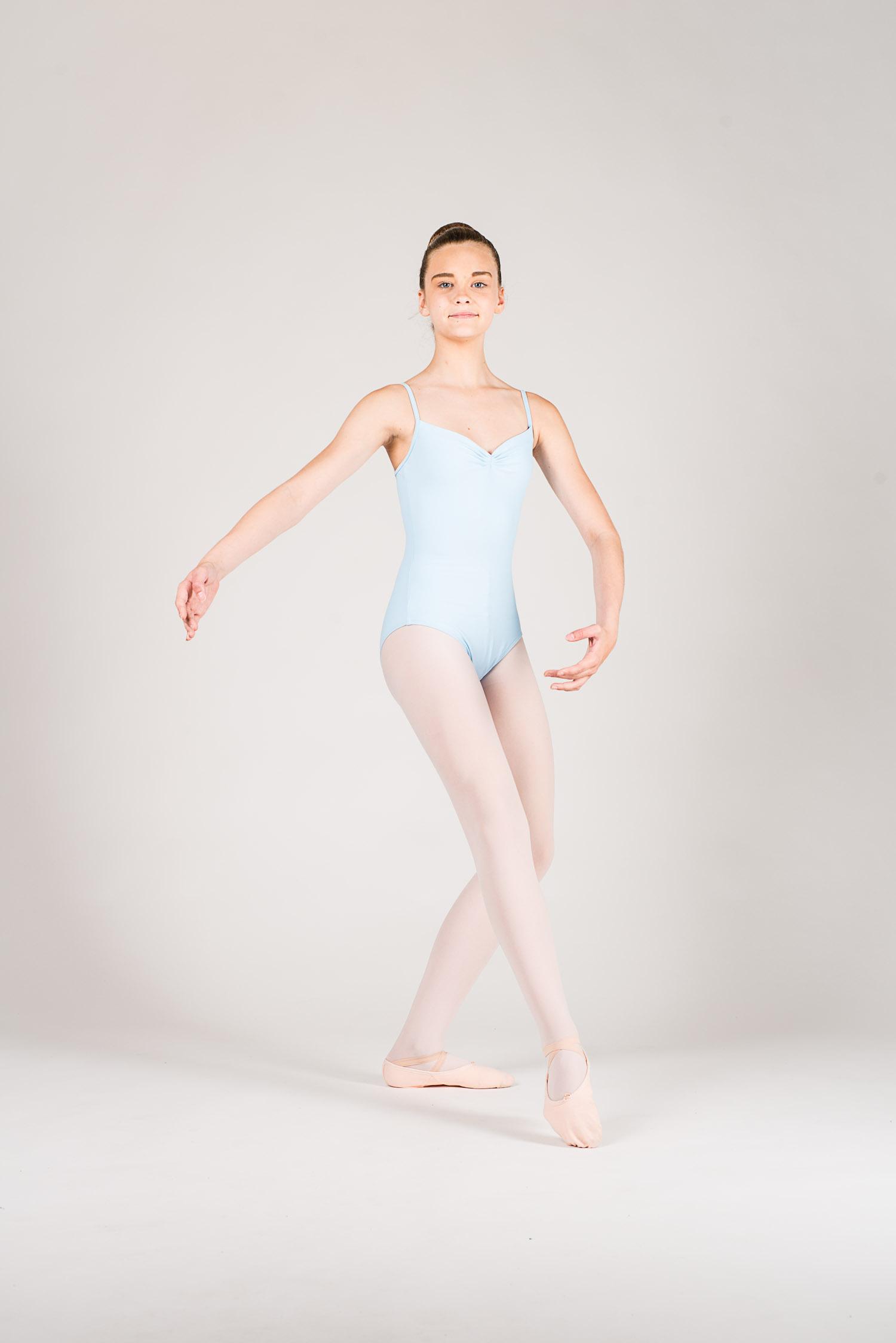 Justaucorps danse enfant Wear Moi sky - Mademoiselle Danse bda147c2d11