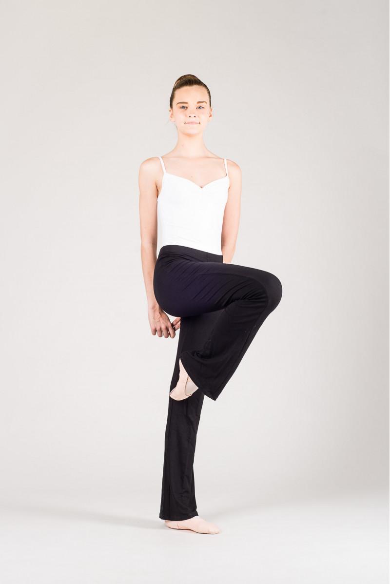 Pantalon de danse jazz temps danse noir