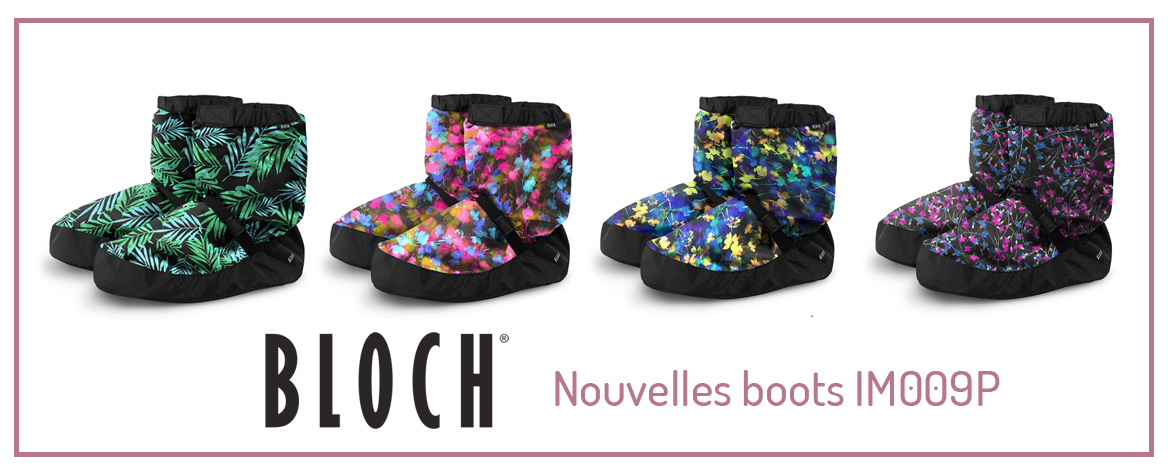Bloch limited edition warm up booties